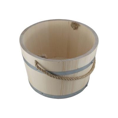 Wiaderko drewniane CEBER do SAUNY WIADRO 7L