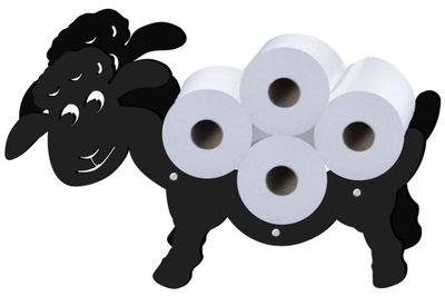 Owca Stojak Wieszak na papier toaletowy
