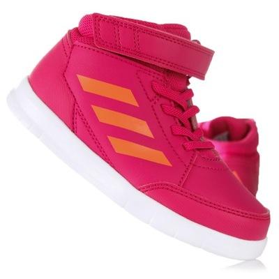 Buty dziecięce Adidas AltaSport Mid I G27128