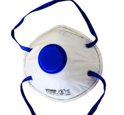 Półmaska przeciwpyłowa z zaworkiem FFP2 2007V