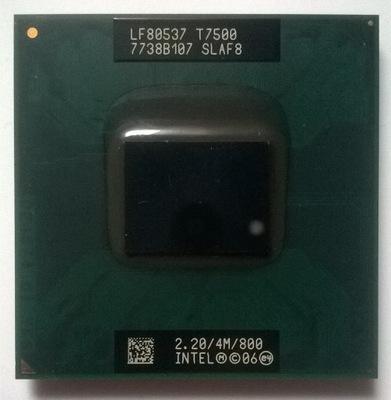 Intel Core 2 duo T7500 2.20GHz 800Mhz FSB 4MB
