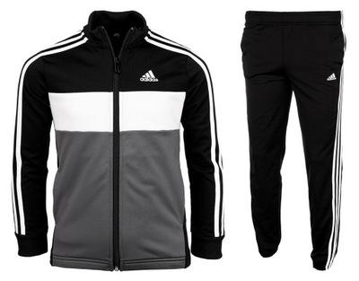 Adidas dres komplet dziecięcy bluza spodnie r.164