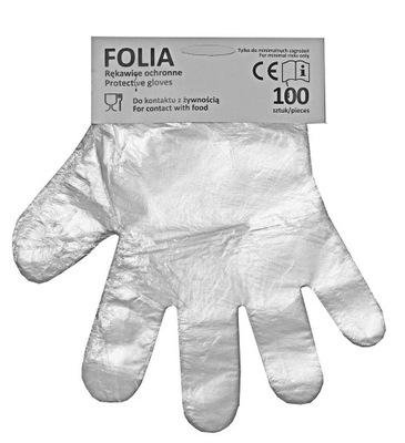 перчатки Из заноса одноразовые mocne100szt.