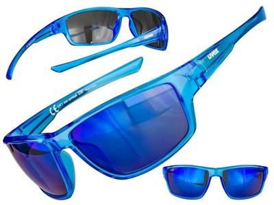 OKULARY SPORTOWE UVEX SPORTSTYLE 230 CLEAR BLUE