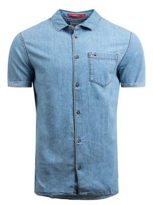 Koszula męska Tommy Hilfiger DM0DM10880-1AB - XL