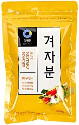 Острая горчица Gyeoja порошок 200г - Корея