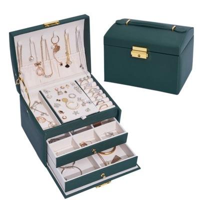 Kuferek Monnari na biżuterie zegarki szkatułka 2w1
