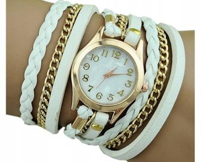 zegarek damski na rzemyku