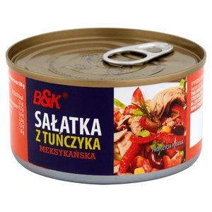 B &K салат тунец мексиканская 185g