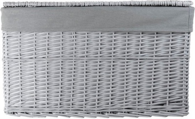 Корзина плетеный Контейнер Сундук коробка 520D серая