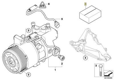 BMW ремкомплект диск zbierakowa E87 E90 M47