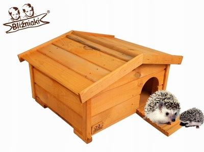 Budka lęgowa dla JEŻA Domek Schron drewno 37x47x25