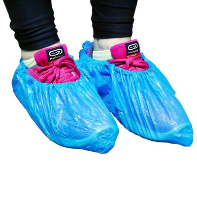 Щитки На обувь Из синие 100шт