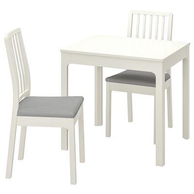 2 krzesła białe IKEA, stan idealny używane 1194178071