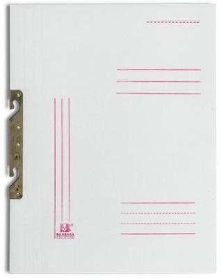 Skoroszyt tekturowy z zawieszką biały A4 50 SZTUK