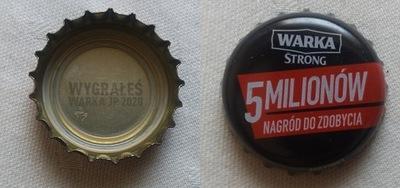 крышечку от пива Warka Strong - выигрышный 2020 пиво