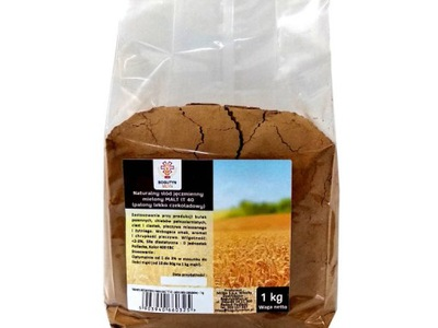 Naturalny słód jęczmienny mielony MALT IT 40 -1 kg