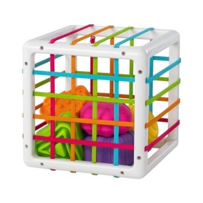 Sorter InnyBin - Elastyczna Kostka Fat Brain Toys