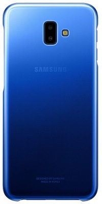 Gradation Cover Samsung Galaxy J6+ 2018 Niebieski