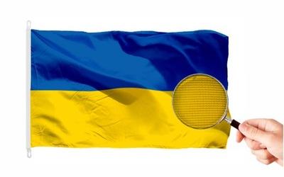 Flaga Ukraina MOCNA 150x90 cm Flagi Ukrainy