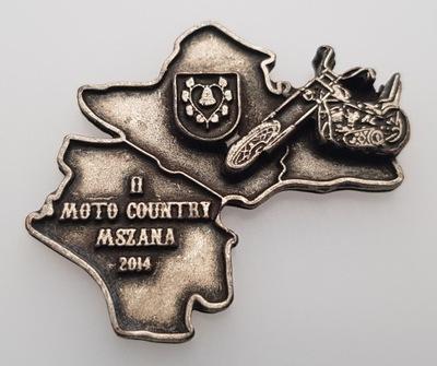 ZNACZEK, ODZNAKA, PLACA ZLOTOWA, MOTOCICLETA -342