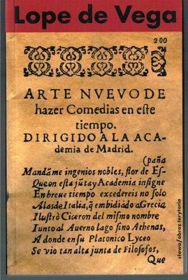 Lope de Vega - Nowa sztuka pisania komedii