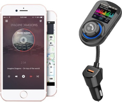 TRANSMITER BLUETOOTH FM MP3 SD HD АВТОМОБИЛЬНЫЙ