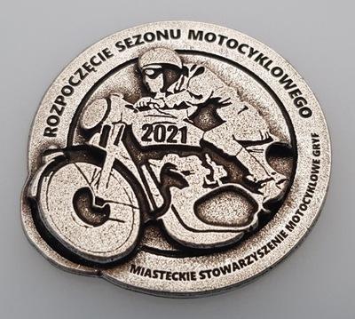 ZNACZEK, ODZNAKA, БЛЯХА ZLOTOWA, МОТОЦИКЛА -670