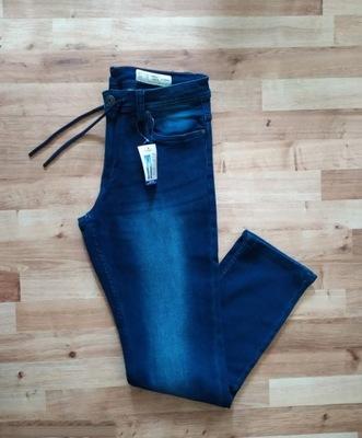 Spodnie jeansowe męskie 32/32 elastyczne slim fit