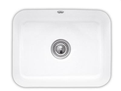 Cisterna biely keramický umývadlo pre spodnú montáž