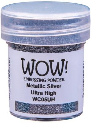 PUDER DO EMBOSSINGU Wow! Metallics Silver srebrny