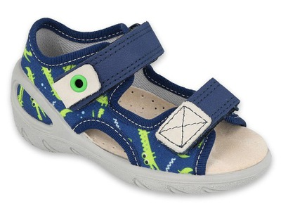Befado pantofle kapcie sandały dziecięce 065155 29