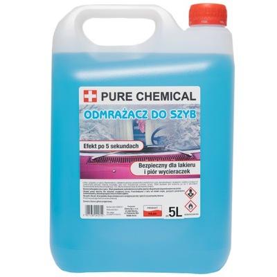 ODMRAŻACZ DO SZYB MOCNY Pure Chemical -40°C 5L