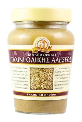 Тахини македонская темная паста ?? кунжута 300 ?