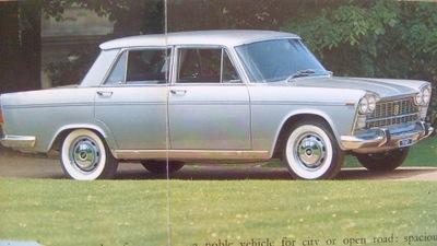 FIAT 2300 DE LUXE / RZADKOSC !!! OK.1967 CОСТОЯНИЕ BDB-