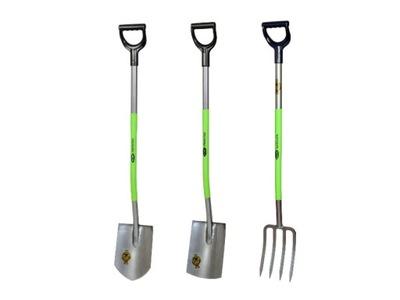 комплект 2x лопата, 1x вилы садовое PRESTIGE