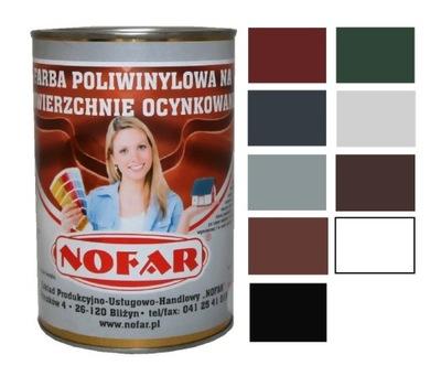 Farba Na Ocynk Dach Aluminium Blachę Kolory 1L