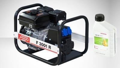 Приводимый в действие генераторная instagram ФОГО F3001R AVR + масло !