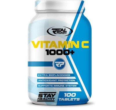 Real Pharm Vitamin C 1000+ (100 tabs)