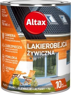 Altax Lakierobejca Żywiczna 0,75L HEBAN