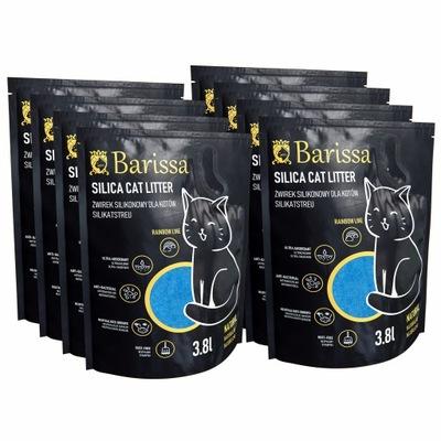 Silikónový vrh pre mačky BARISSA 10 * 3,8L 0,5-2MM