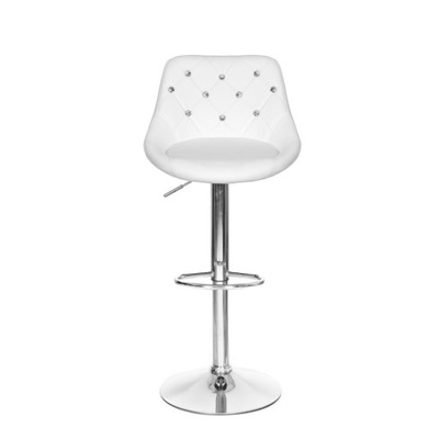 Hoker стул стул стеганые регулируемые белое