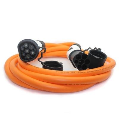Kabel 3 fazowy 22kW Type 2 dł. 5m firmy ZENCAR