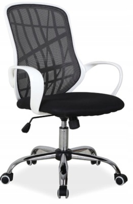 Кресло ??????????, Белый-Черный Ткань Ребенок Письменный Стол