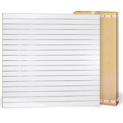 Space Shop Slat Wall Белый 200x180cm F10cm +тапочки