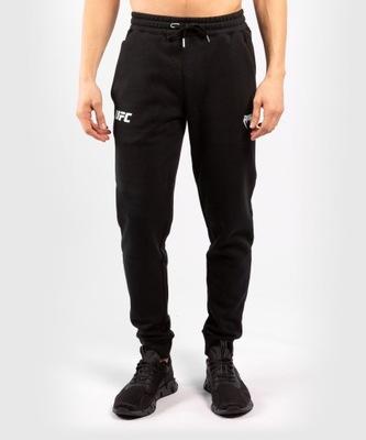 Spodnie Dresowe UFC Venum Replica Czarno/Białe M