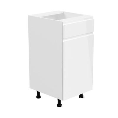 ASPEN D40S1-L нижний Шкаф с ящиком Белый блеск
