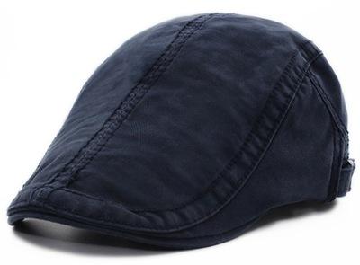 Kaszkiet męski granatowy czapka casual