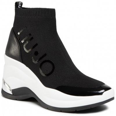 B455 Buty Sneakersy Wysokie Damskie Liu Jo 38