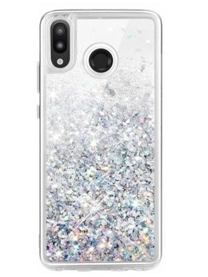 Etui Case Do Huawei P20 Lite Płynny Brokat Obudowa